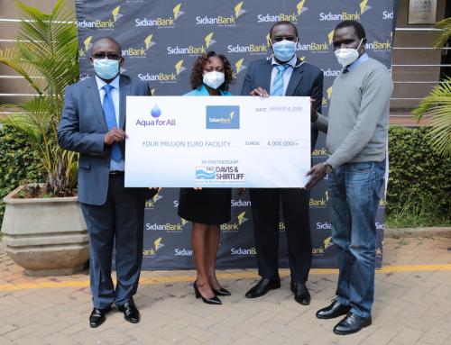 Sidian Bank Launches Covid 19-WASH loan facility