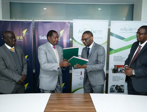 Sidian Bank receives half a billion funding for SME support in the country.